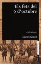 els fets del 6 d octubre jaume barrull 9788498090789