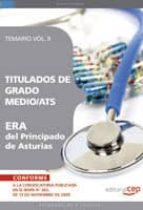 TITULADOS DE GRADO MEDIO/ATS ERA DEL PRINCIPADO DE ASTURIAS. TEMA RIO VOL. II