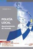 POLICIA LOCAL DEL AYUNTAMIENTO DE OVIEDO. TEMARIO VOL. II.