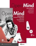 open mind intermediate student´s book & workbook pack with answer key 9780230480599