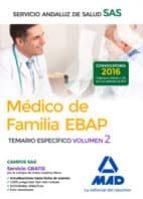médico de familia ebap del servicio andaluz de salud. temario específico vol 2 9788414201299