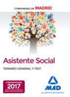 asistentes sociales de la comunidad de madrid temario general y test 9788414207499