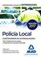 policia local de extremadura: cuestionarios de autoevaluacion 9788414208199