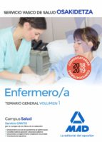 enfermera/o de osakidetza-servicio vasco de salud: temario general (vol. 1)-9788414215999