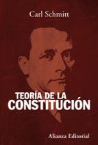 teoria de la constitucion-carl schmitt-9788420654799