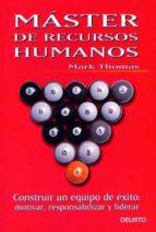 master en recursos humanos-mark thomas-9788423421299