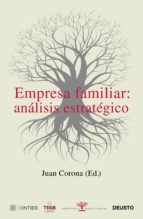 empresa familiar: analisis estrategico juan corona 9788423427499