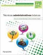tecnicas administrativas basicas-oscar sanchez estella-ricardo herrero domingo-9788428335799