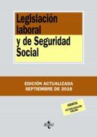legislacion laboral y seguridad social (20ª ed.)-9788430975099