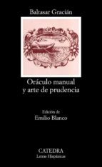 oraculo manual y arte de prudencia-baltasar gracian-9788437613499