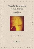 filosofia de la mente y de la ciencia cognitiva-jose hierro sanchez pescador-9788446022299
