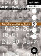 geometria analítica de l espai  (cataluña) 9788448915599
