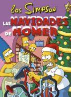 las navidades de homer matt groening 9788466659499
