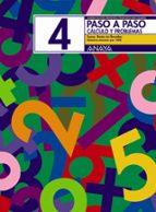PASO A PASO 4. CALCULO Y PROBLEMAS: SUMA, RESTA SIN LLEVADAS