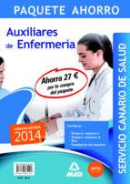 paquete ahorro auxiliar de enfermeria servicio canario de salud 9788467682199