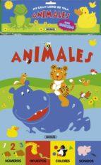 animales (mi gran libro de tela) 9788467718799
