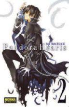 pandora hearts vol. 2 jun mochizuki 9788467908299