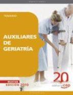 auxiliares de geriatria.temario 9788468105499