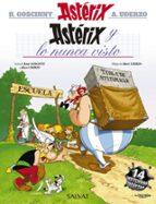 asterix 32: y lo nunca visto rene goscinny 9788469602799