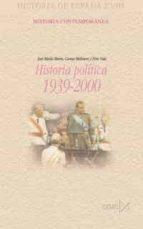 historia politica 1939 2000 9788470903199