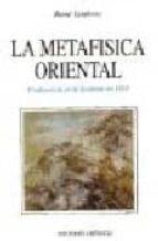 la metafisica oriental: conferencia en la sorbona en 1925-rene guenon-9788477204299