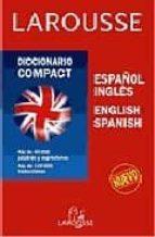 diccionario compact español-ingles, ingles-español-9788480161299