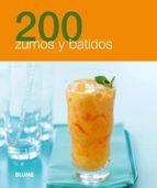200 zumos y batidos 9788480769099