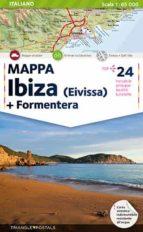 mapa ibiza (italiano)-9788484783299