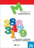 cuaderno de matematicas, n. 26-9788489655799