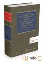 comentarios a la ley de la jurisdicción contencioso-administrativ a (ley 29/1998, de 13 de julio)-jesus gonzalez perez-9788490994399