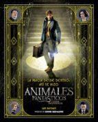 la magia desde dentro: asi se hizo animales fantasticos y donde encontrarlos-ian nathan-9788491390299