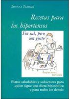 recetas para hipertensos, sin sal pero con gusto 9788496707399