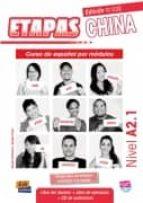 etapas china a 2.1 libro del alumno+ejercicios+cd-9788498484199