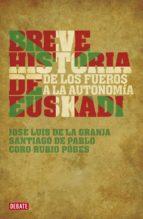 breve historia de euskadi (ebook)-santiago de pablo-jose luis de la granja-coro rubio-9788499920399
