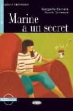 marine a un secret (livre+cd) (a2) margarita barbera 9788853003799