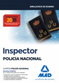 INSPECTOR DE POLICIA NACIONAL: SIMULACROS DE EXAMEN - 9788414218709 - VV.AA.