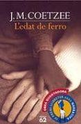 L EDAT DE FERRO - 9788429751109 - J.M. COETZEE