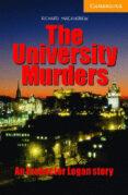 the university murders (incluye cd)-richard macandrew-9780521686419
