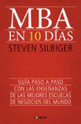 MBA EN 10 DIAS - 9788415431619 - STEVEN SILBIGER