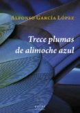 TRECE PLUMAS DE ALIMOCHE AZUL - 9788416613519 - ALFONSO GARCIA LOPEZ