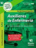 AUXILIARES DE ENFERMERÍA DEL SAS: TEST DEL TEMARIO ESPECIFICO - 9788416963119 - VV.AA.