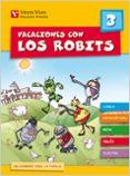 VACACIONES CON LOS ROBITS 3º PRIMARIA + SOLUCIONARIO - 9788431697419 - VV.AA.