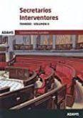 SECRETARIOS INTERVENTORES TEMARIO-VOLUMEN II - 9788491470519 - VV.AA.