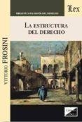 LA ESTRUCTURA DEL DERECHO - 9789567799619 - VITTORIO FROSINI