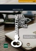 marketing que cuando como y donde-marilo reina-9788416466429