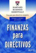 FINANZAS PARA DIRECTIVOS - 9788423420629 - VV.AA.