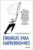 finanzas para emprendedores (ebook)-antonio manzanera-9788423427529