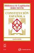 CONSTITUCION ESPAÑOLA  (4ª ED.) - 9788447036929 - RICARDO ALONSO GARCIA