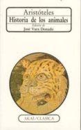HISTORIA DE LOS ANIMALES - 9788476004029 - ARISTOTELES