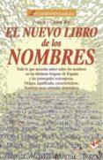 EL NUEVO LIBRO DE LOS NOMBRES - 9788479274429 - FRANCIS REY